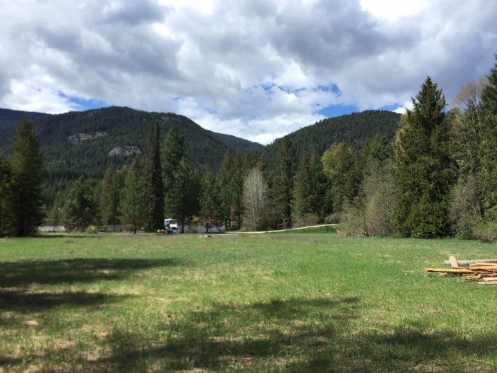 Land for tiny home in Winlaw