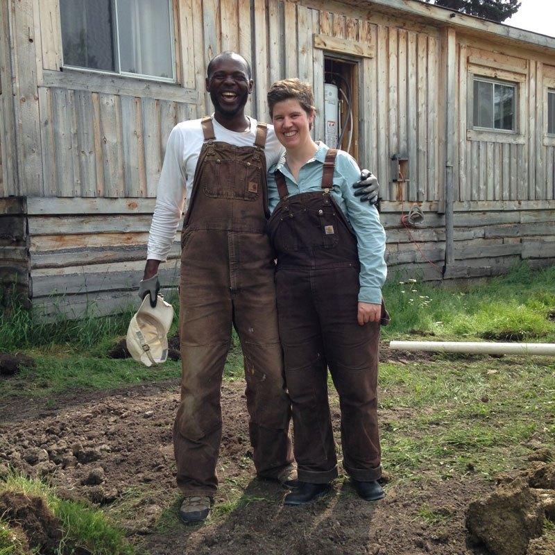 kwesi and meghan of akesi farms and fungi akuafo