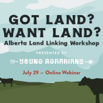 Alberta Land Link Workshop 2020