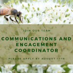 JOB: VICTORIA, BC – CRFAIR, Communications and Engagement Coordinator