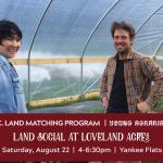 AUG 22, 2020: YANKEE FLATS, BC –  Land Social at Loveland Acres