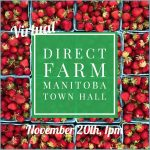 Nov. 20: Town Hall – Direct Farm Manitoba