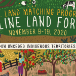 LAND FORUM NOV 9-19, 2020 – ONLINE!