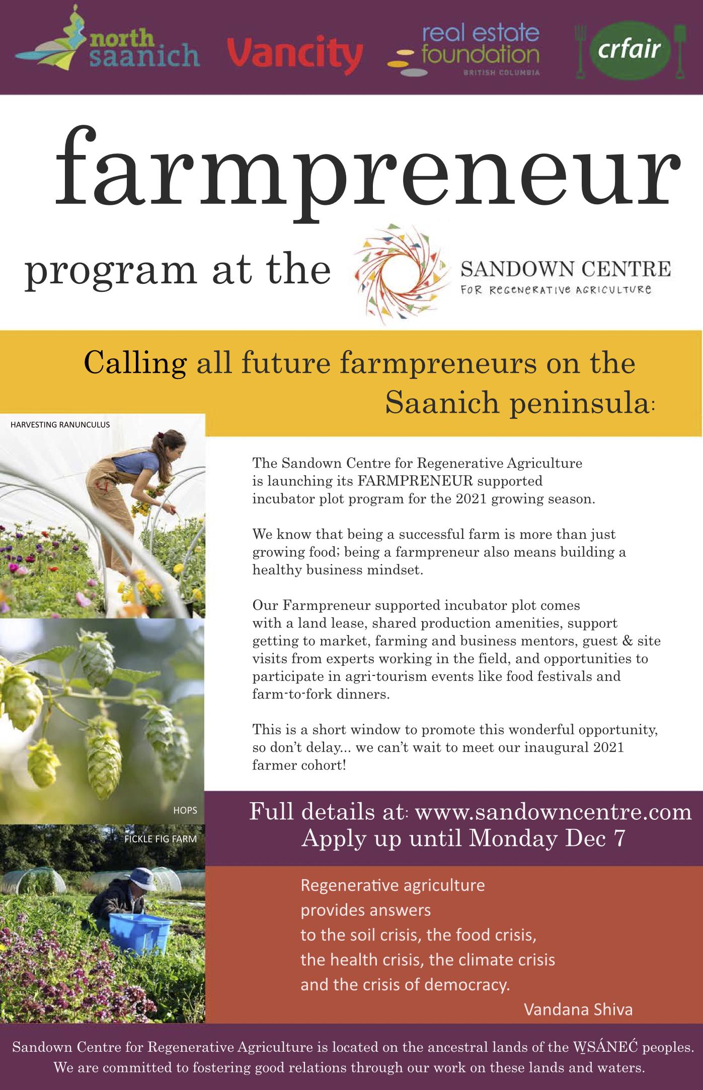 Farmpreneur poster