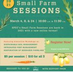 MAR 4-24, 2021: SPEC Small Farm Sessions