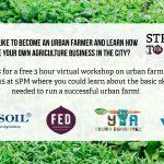 MAR 15, 2021: Urban Farming Workshop Webinar (Victoria, BC)