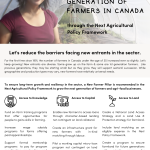Growing the Next Generation of Farmers – Policy Recommendations