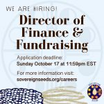 JOB: CANADA – Sovereign Seeds, Director of Finance and Fundraising