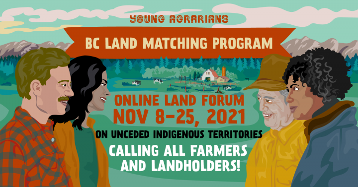 2021 Land Forum graphic Nov 8-25 - Online
